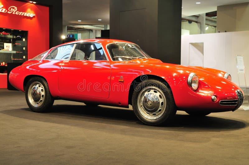 Alfa Romeo Giulietta SZ ?Coda Tronca? 1960 imagem de stock