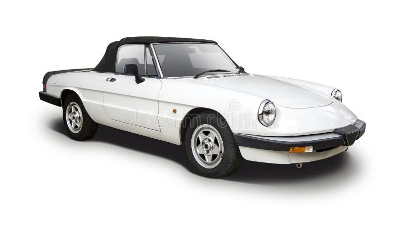 Alfa Romeo klasyka sportowy samochód zdjęcia royalty free