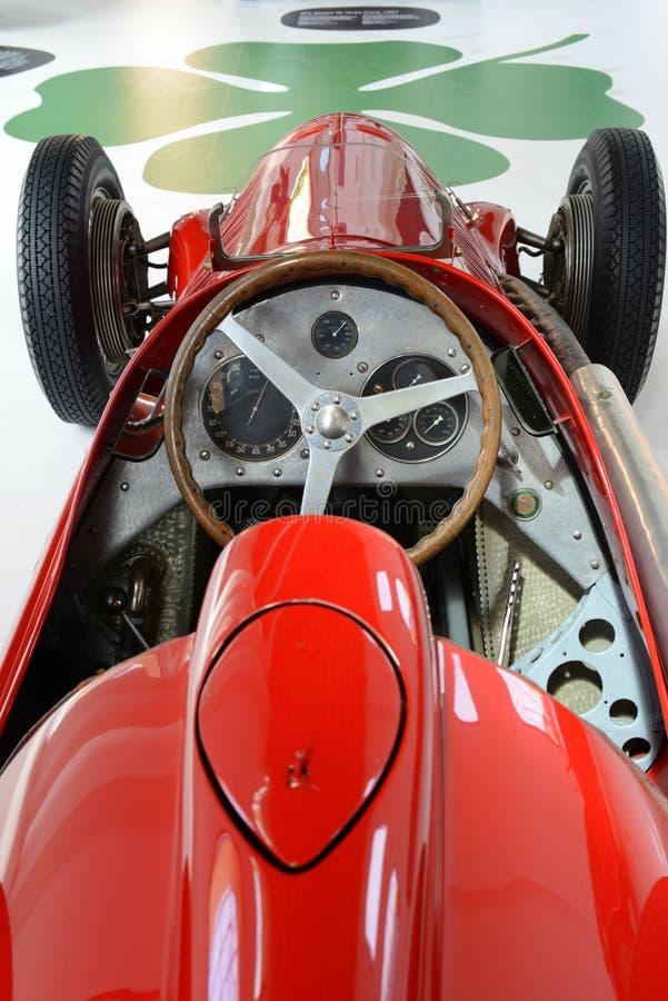 Alfa Romeo 159 m-monoposto, das Motor- Innenraum läuft lizenzfreie stockbilder