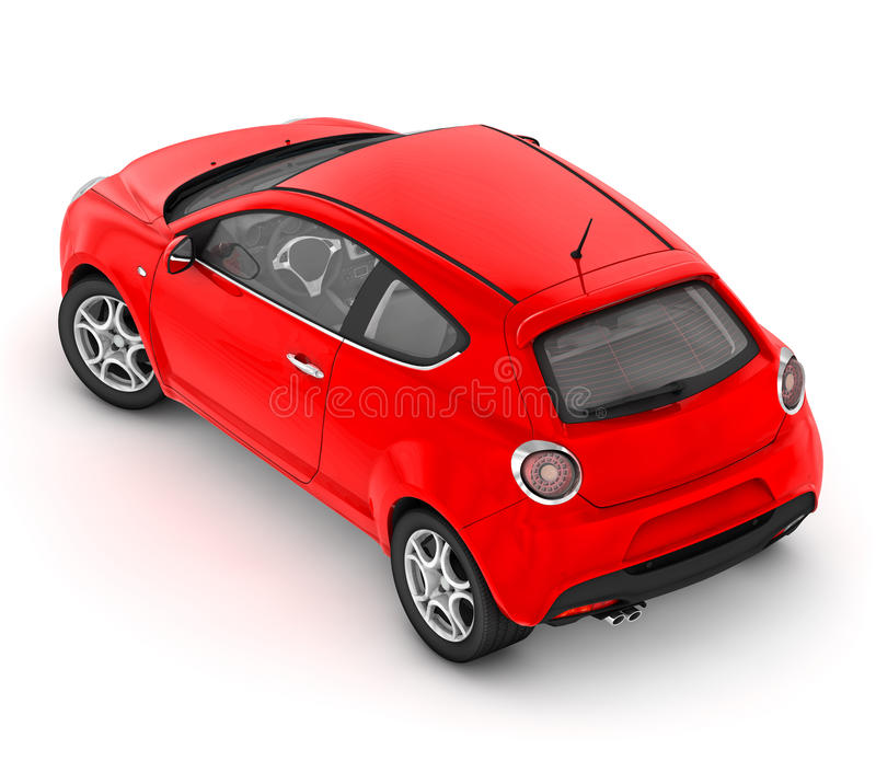 Alfa Romeo MiTo (2008) illustration stock