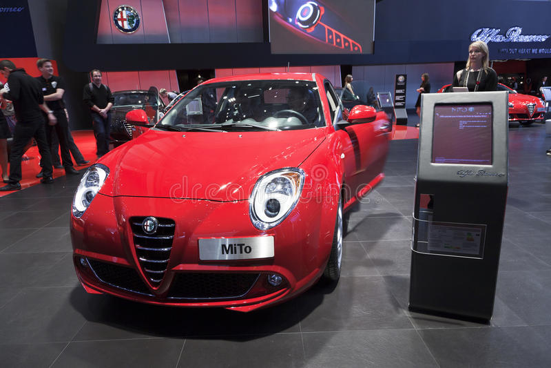 Alfa Romeo Mito stock photos
