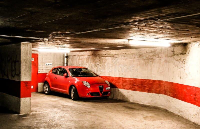 Alfa Romeo Mito fotografia de stock royalty free