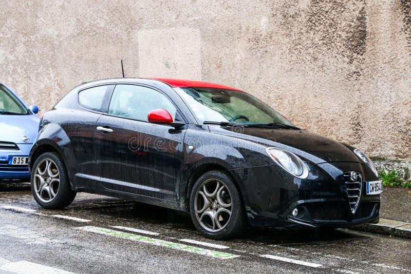 Alfa Romeo Mito imagens de stock