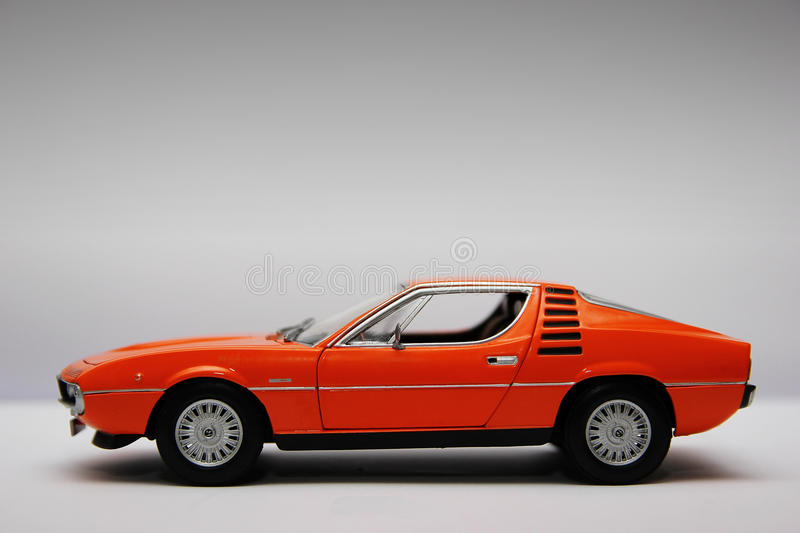 Alfa Romeo Montreal diecast royalty free stock photo