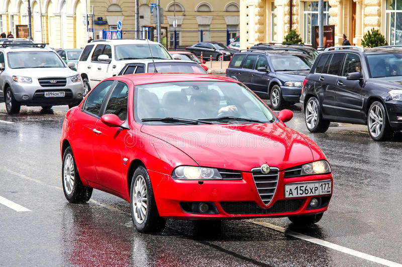 Alfa Romeo 156 stock photography