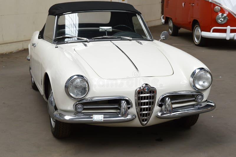Alfa Romeo Spider fotos de stock royalty free
