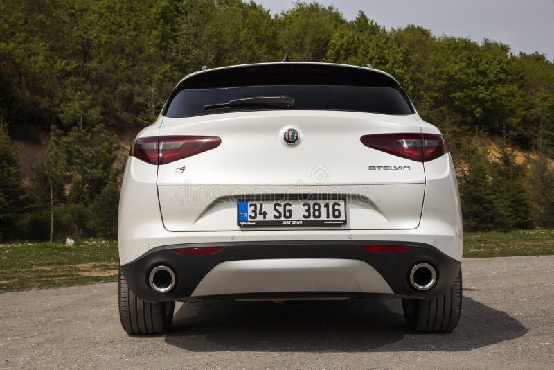 Alfa Romeo Stelvio fotografia de stock