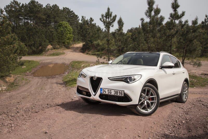 Alfa Romeo Stelvio foto de stock