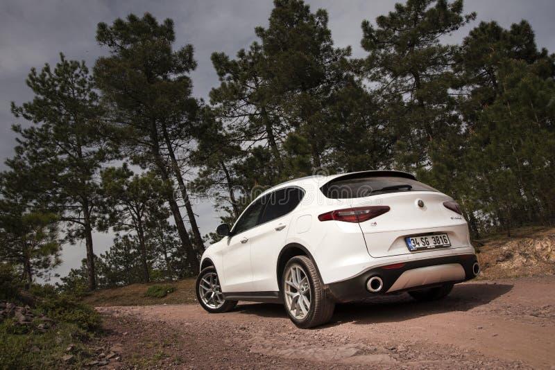 Alfa Romeo Stelvio fotos de stock royalty free