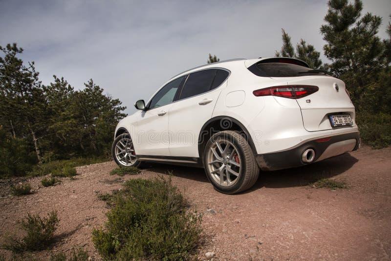 Alfa Romeo Stelvio imagens de stock royalty free