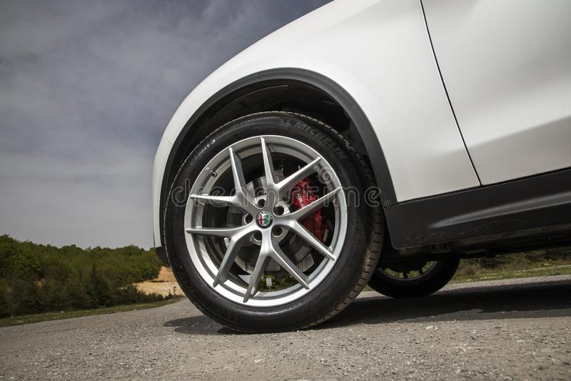 Alfa Romeo Stelvio fotos de stock
