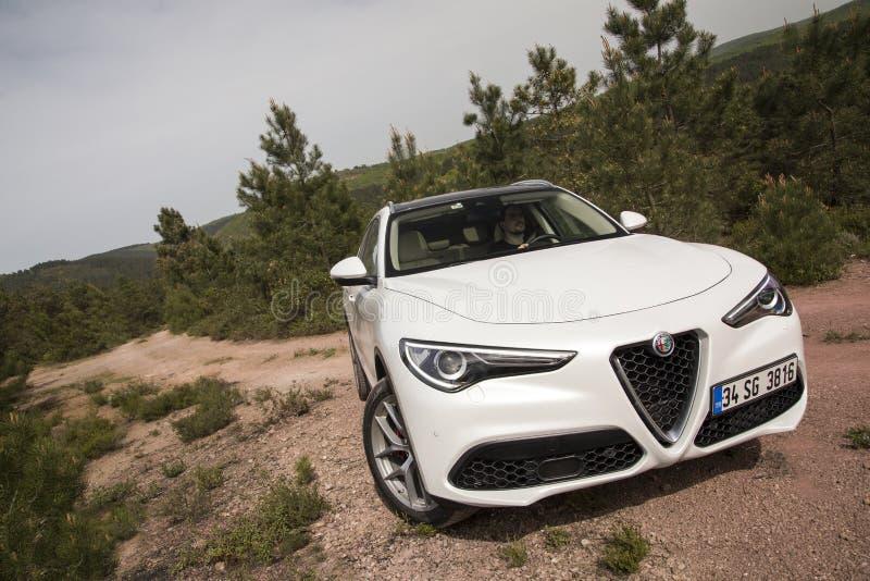 Alfa Romeo Stelvio imagem de stock royalty free