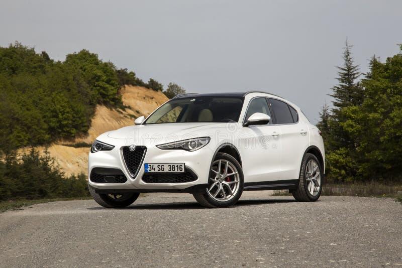 Alfa Romeo Stelvio imagens de stock