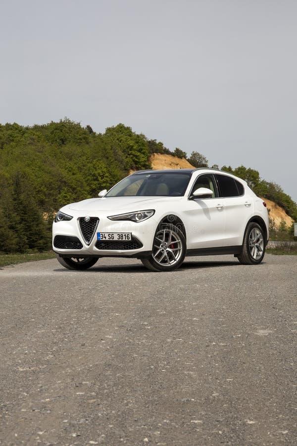 Alfa Romeo Stelvio fotografia de stock royalty free