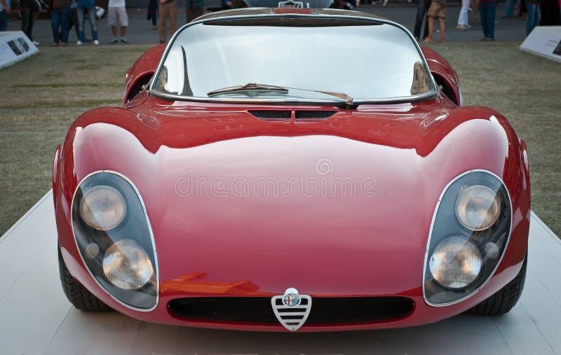Alfa Romeo 33 stradale 1967 royaltyfri bild