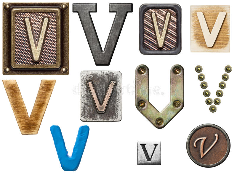 Alfabet stock fotografie
