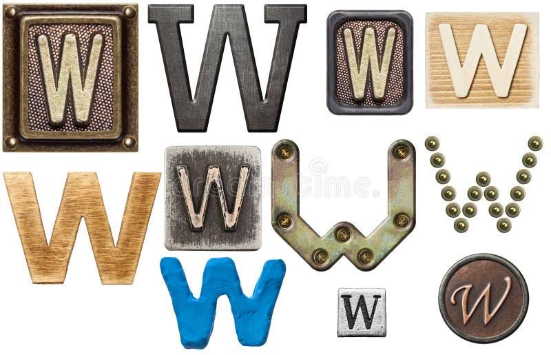 Alfabet stock foto
