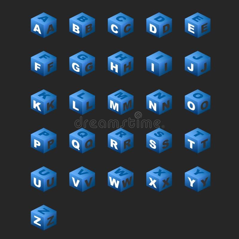 alfabetbluen skära i tärningar tema fotografering för bildbyråer