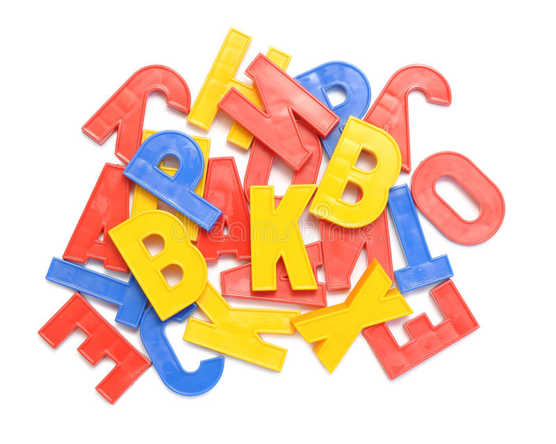 alfabetbokstäver arkivbilder
