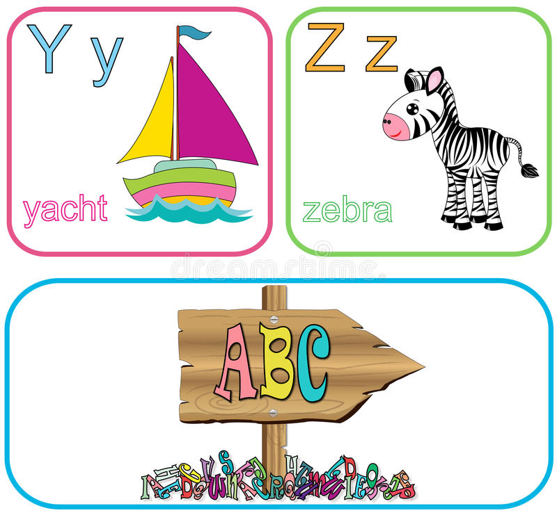Alfabetbrieven royalty-vrije stock foto's