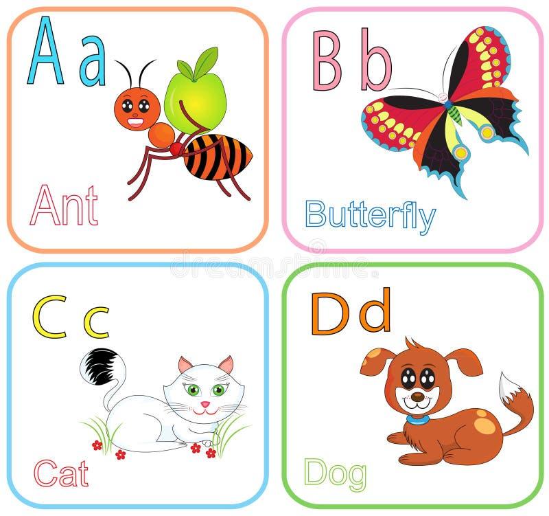 Alfabetbrieven stock afbeeldingen