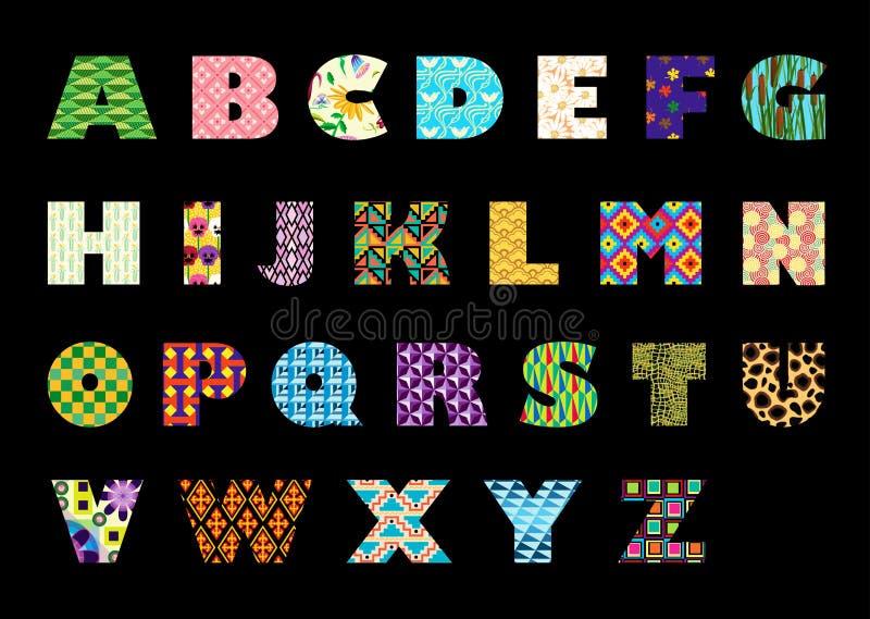 Alfabetico royalty illustrazione gratis
