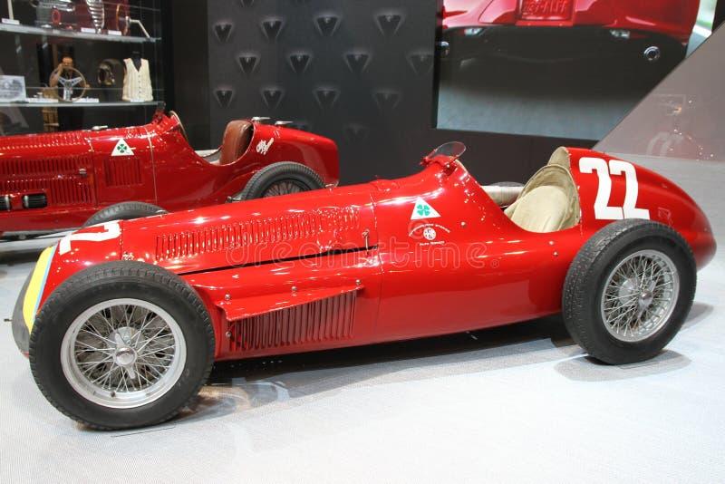 Alfabetisk Romeo Alfetta 1957 royaltyfria bilder