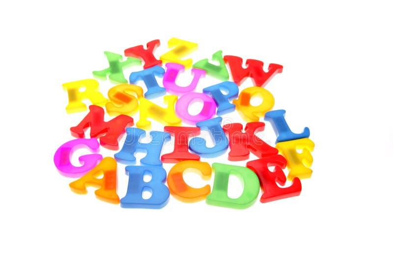 Alfabeto imagem de stock
