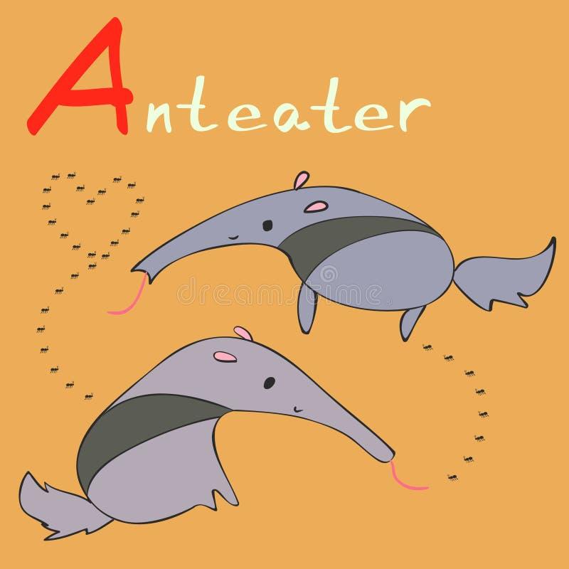 Alfabeto animal fotos de archivo libres de regalías