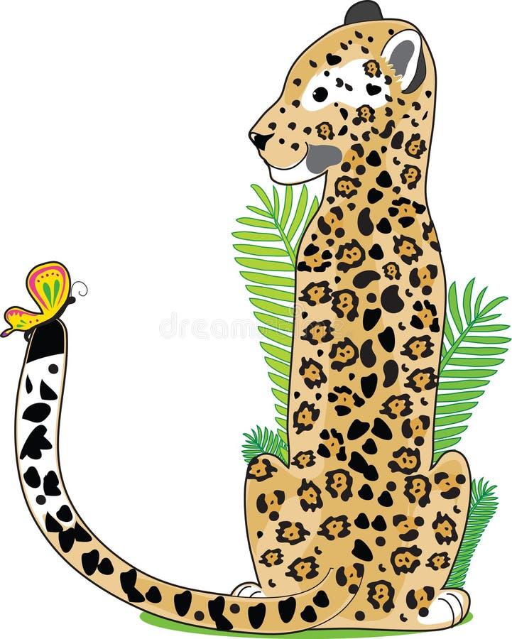 Alfabeto animal J ilustração do vetor