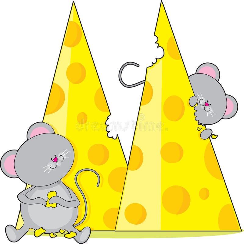 Alfabeto animal M ilustração royalty free
