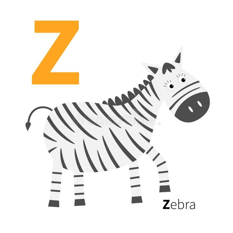 Alfabeto dello zoo della lettera abc inglese con le carte - Immagini di animali dello zoo per bambini ...