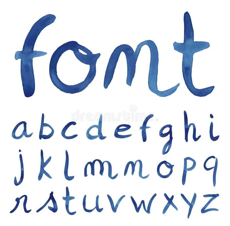 Alfabeto disegnato a mano di schizzo royalty illustrazione gratis