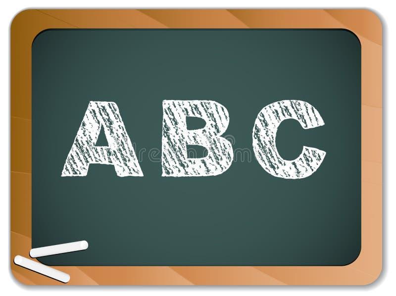 Download Alfabeto Do Giz No Quadro-negro Ilustração do Vetor - Ilustração de alfabeto, aprenda: 16870147