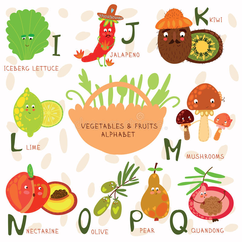 Vegetable Starting Letter J