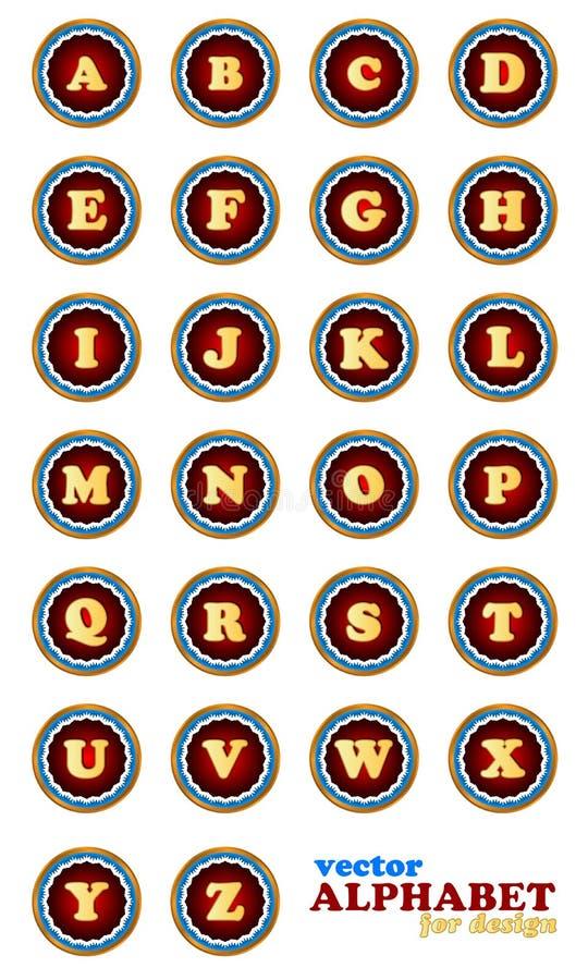 Download Alfabeto do vetor ilustração do vetor. Ilustração de arte - 29828573