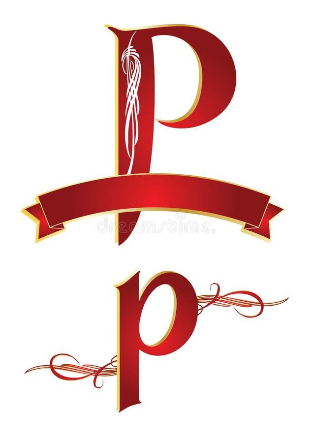 Alfabeto p libre illustration