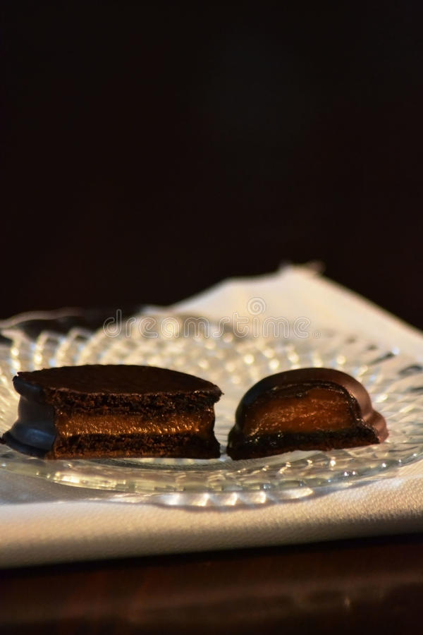 Alfajor obrazy stock
