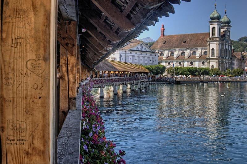 Alfalfa es un centro urbano en el país de Suiza en Europa foto de archivo libre de regalías