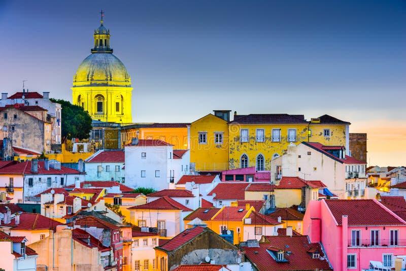 alfama Lisbon obraz royalty free