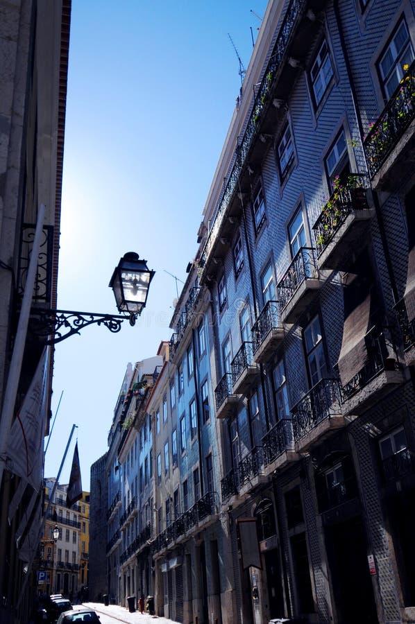 Alfama, Lisbona immagini stock