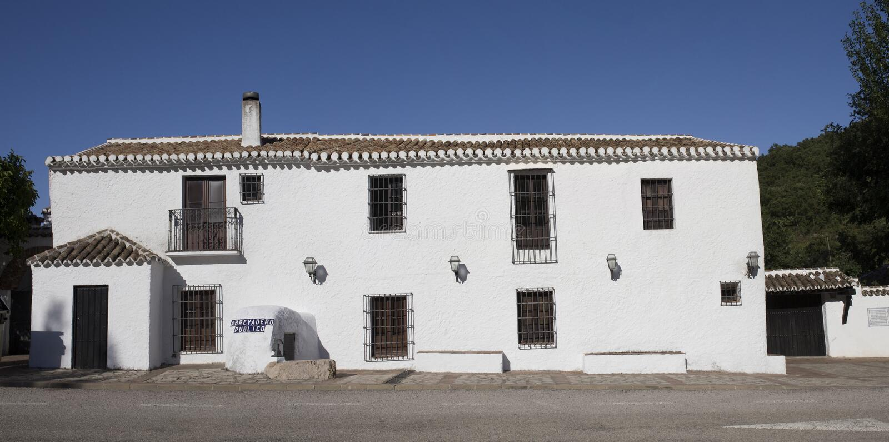 Alfarnate hosterly, самый старый андалузский active гостиницы, Малага, Sp стоковое фото rf