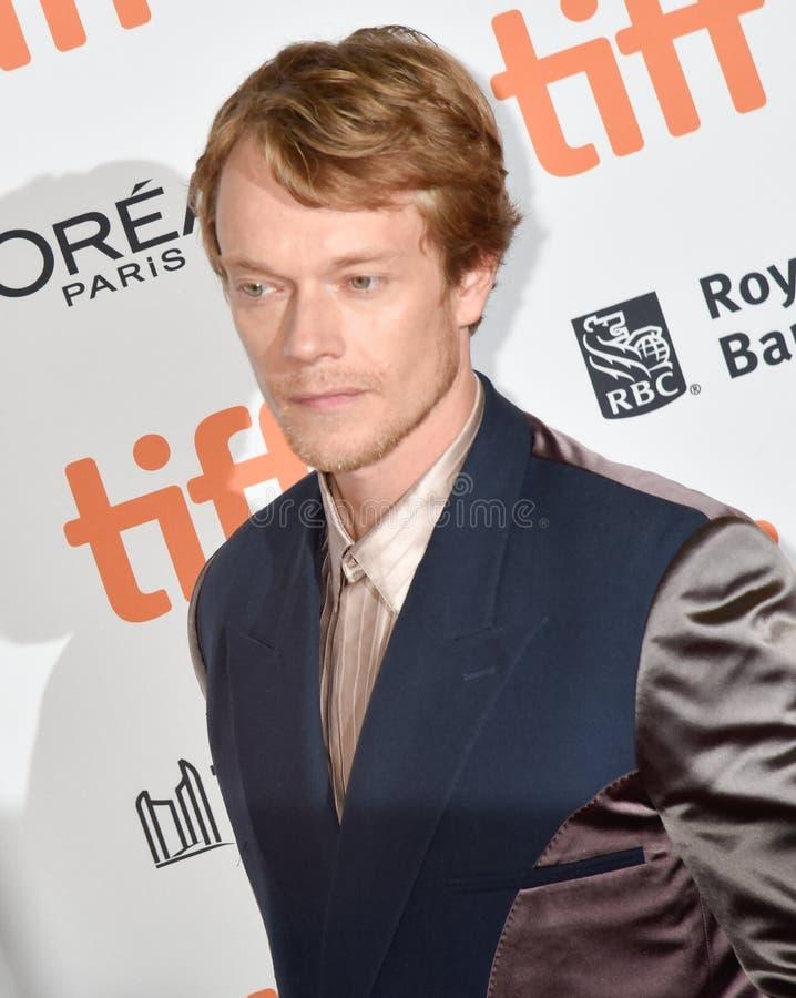 Alfie Allen at premiere of Jojo Rabbit. Alfie Evan Allen is an English actor  . Game of Thrones actor royalty free stock photo