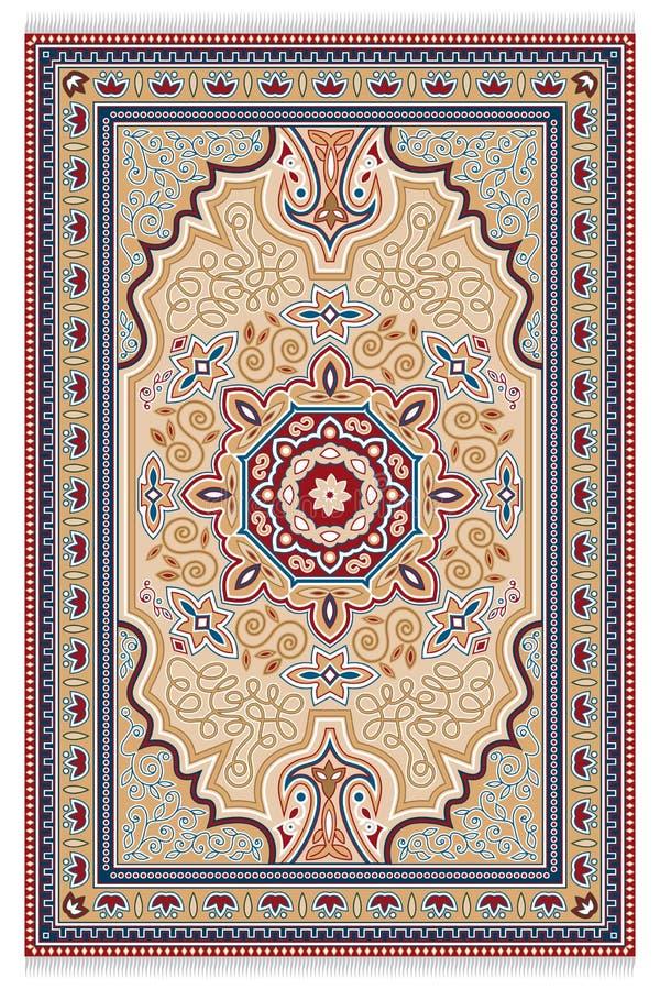 alfombra stock de ilustración