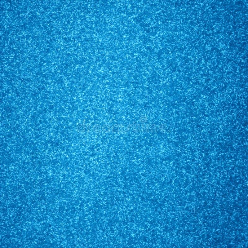 Alfombra azul ilustración del vector