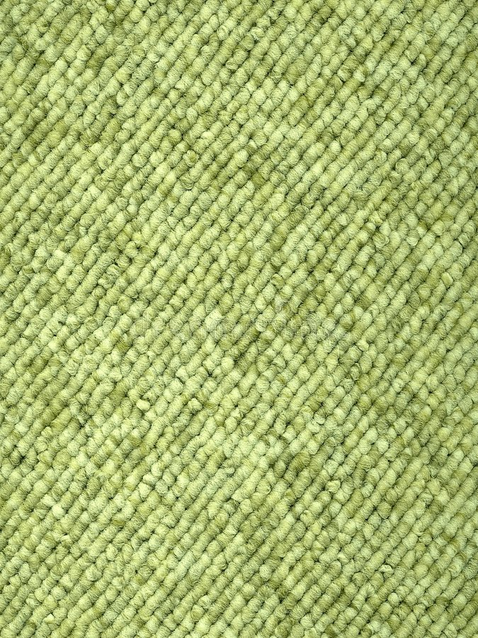 Alfombra Bucle-Tejida verde fotografía de archivo