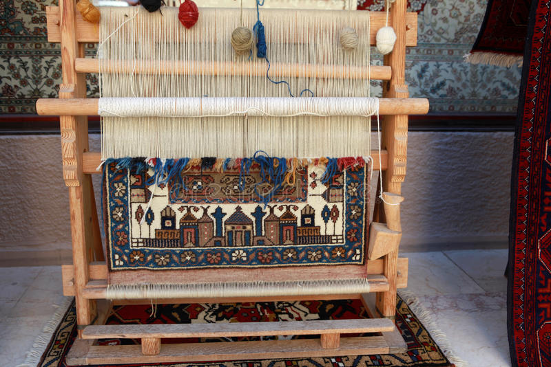 Alfombra de Anatolia fotografía de archivo