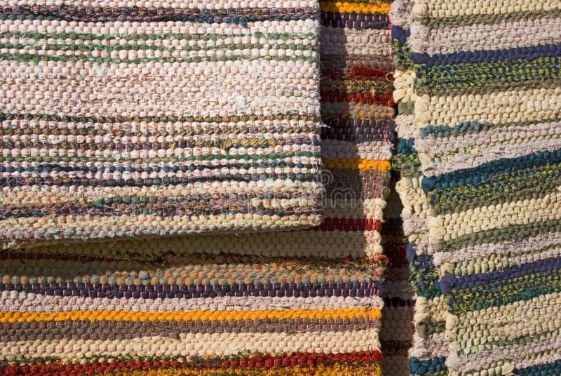 Alfombra de Handmaded. fotografía de archivo