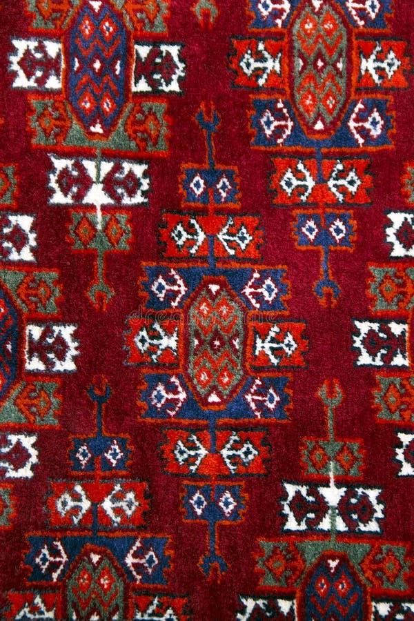 Alfombra hecha a mano de Anatolia más cercana imagenes de archivo