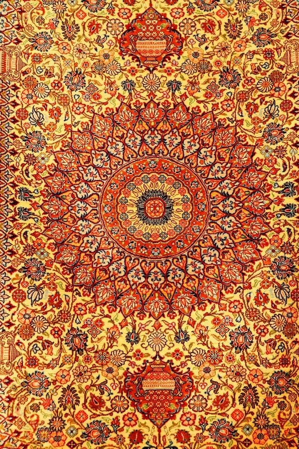 Alfombras persas fotografía de archivo libre de regalías